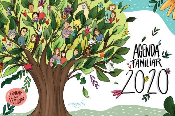 Portada de la Agenda Familiar 2020