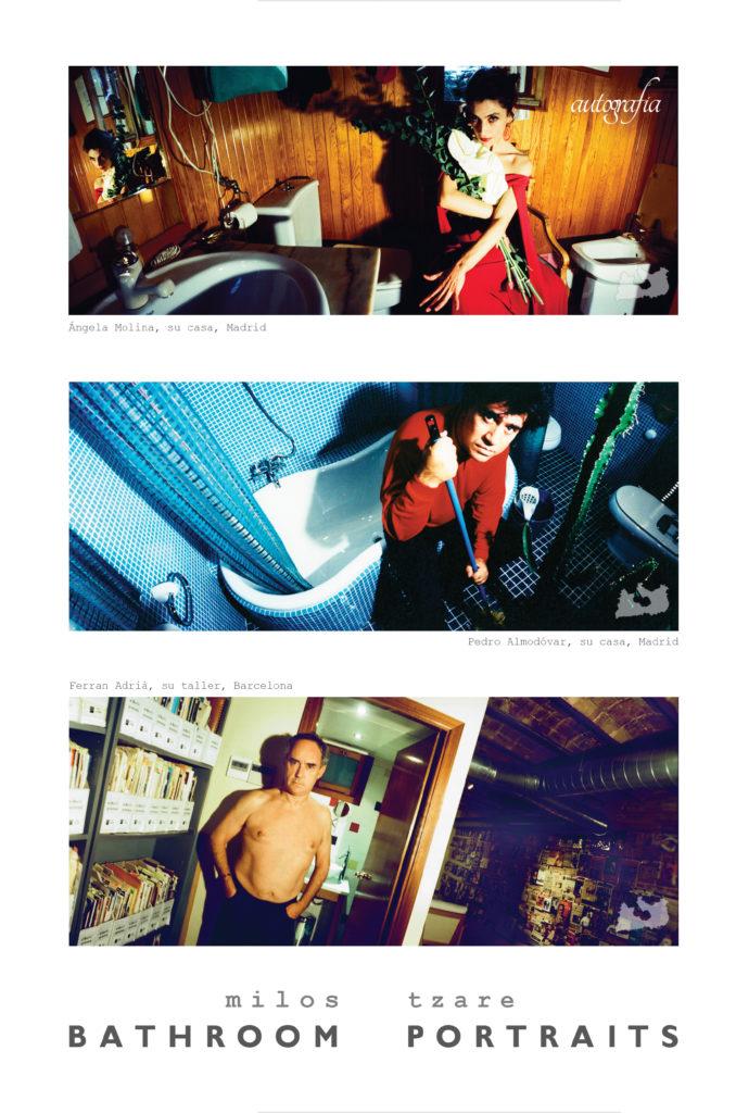 Portada libro Bathroom Portraits