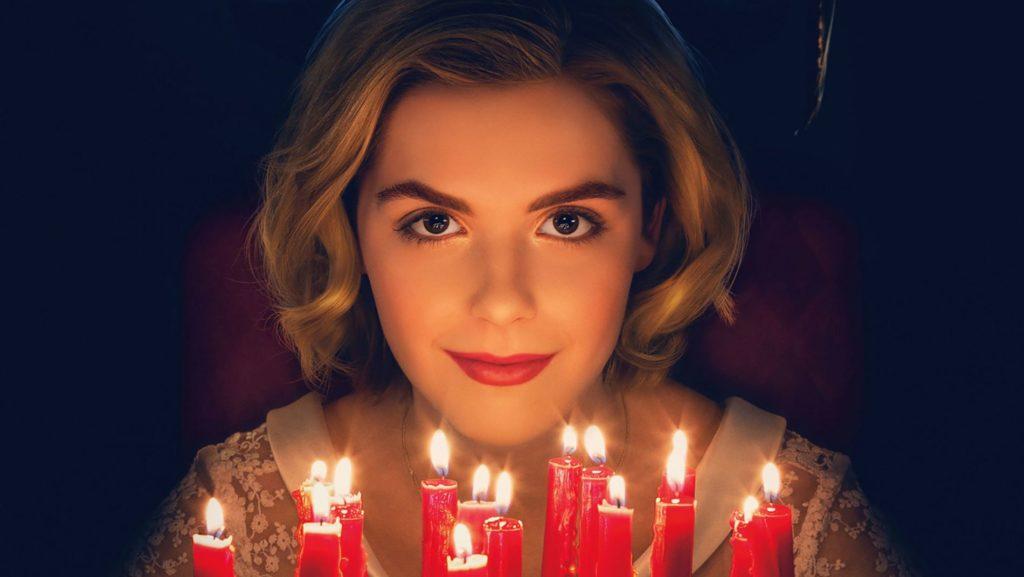 Sabrina, la protagonista de Las escalofriantes aventuras de Sabrina, de Netflix